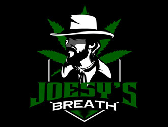 Joesys Breath  logo design