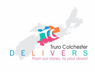 Truro Colchester Delivers logo design