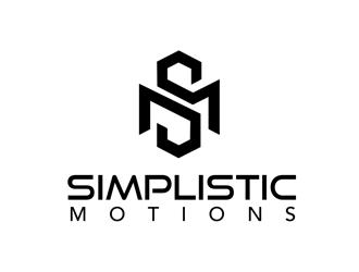 SimplisticMotions LLC (Simple Motion Media) logo design