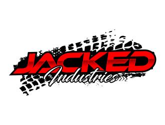 Jacked Industries logo design