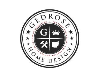 Gedrose Home Design  logo design