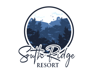SouthRidge Resort logo design by MarkindDesign™