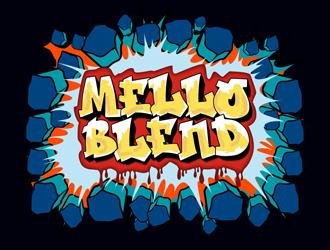 Melloblend logo design