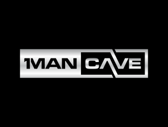 First Man Cave  logo design