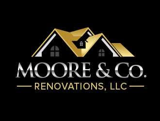 Moore & Co Renovations, LLC logo design