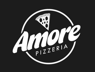 Amore Pizzeria  logo design