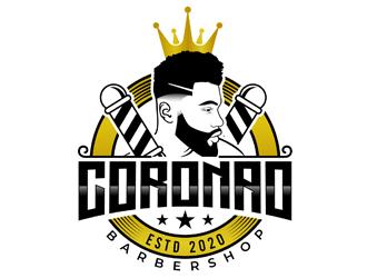 Coronao  logo design
