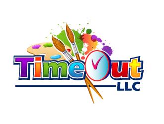 TimeOut LLC logo design
