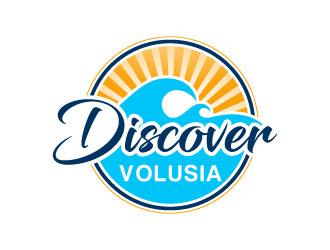 Discover Volusia logo design