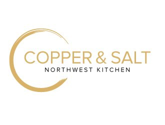 Copper & Salt Northwest Kitchen logo design winner