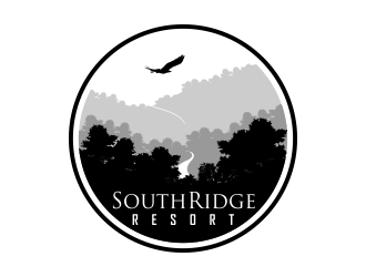 SouthRidge Resort logo design