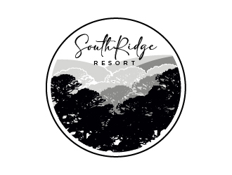 SouthRidge Resort logo design by cybil