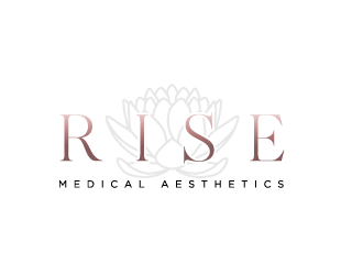Rise Medical Aesthetics logo design