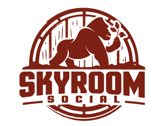Skyroom Social  Logo Design