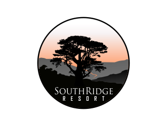 SouthRidge Resort logo design by Dhieko