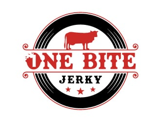 1 bite   logo design
