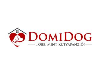 DomiDog - Több, mint kutyapanzió! logo design