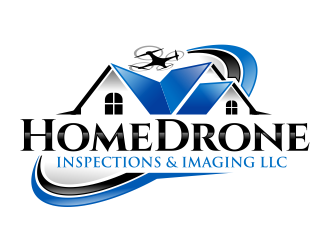 Home Drone Inspections & Imaging LLC logo design