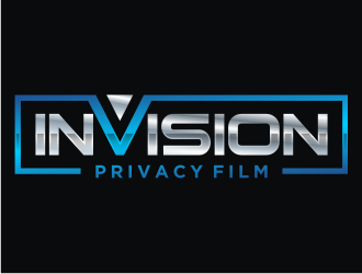 InVision Privacy Film logo design