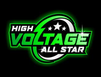 High Voltage All Star logo design