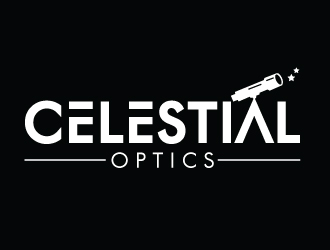 Celestial Optics logo design by gilkkj