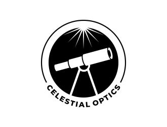Celestial Optics logo design by ekitessar