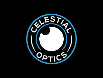 Celestial Optics logo design by pambudi