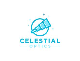 Celestial Optics logo design by jafar
