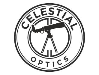 Celestial Optics logo design by Greenlight