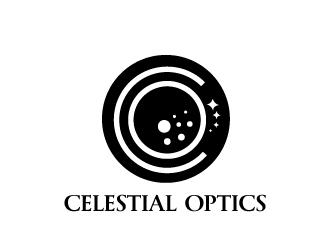 Celestial Optics logo design by Erasedink