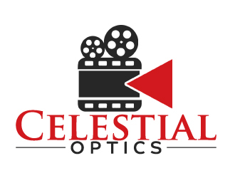 Celestial Optics logo design by AamirKhan