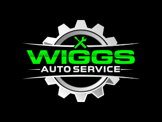 Mike Wiggs Auto & Fleet Service logo design