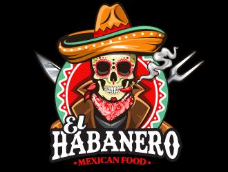 El Habanero Mexican Food  logo design