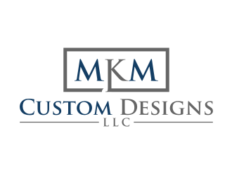 MKM Custom Designs LLC logo design by puthreeone