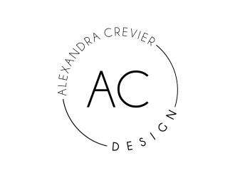 Alexandra Crevier Interiors logo design