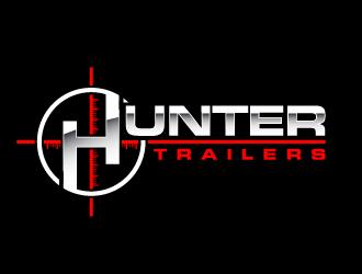 Hunter Trailers logo design
