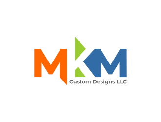 MKM Custom Designs LLC logo design by ekitessar