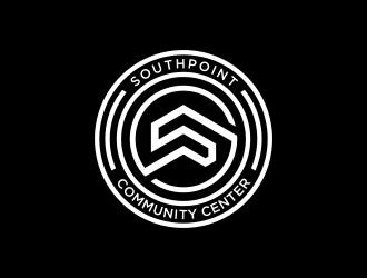 SouthPoint Community Center logo design