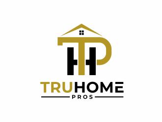 TruHome Pros logo design by mutafailan