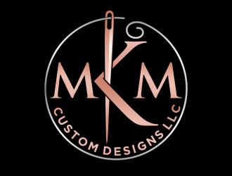 MKM Custom Designs LLC logo design by agus