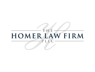 The Homer Law Firm, PLLC Logo Design