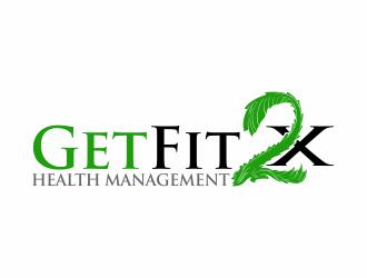 GetFit2x logo design