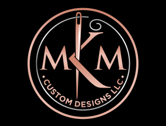 MKM Custom Designs LLC logo design