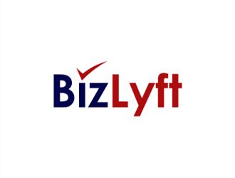 BizLyft logo design
