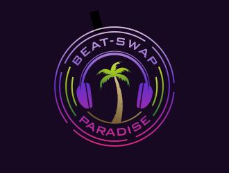 Beat-Swap Paradise logo design