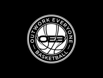 Outwork Everyone Basketball logo design
