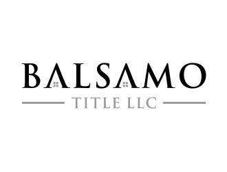 Balsamo Title, LLC logo design by Inaya