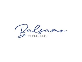 Balsamo Title, LLC logo design by Creativeminds