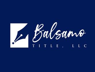 Balsamo Title, LLC logo design by kunejo