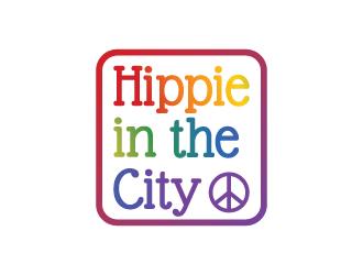 Hippie in the City logo design